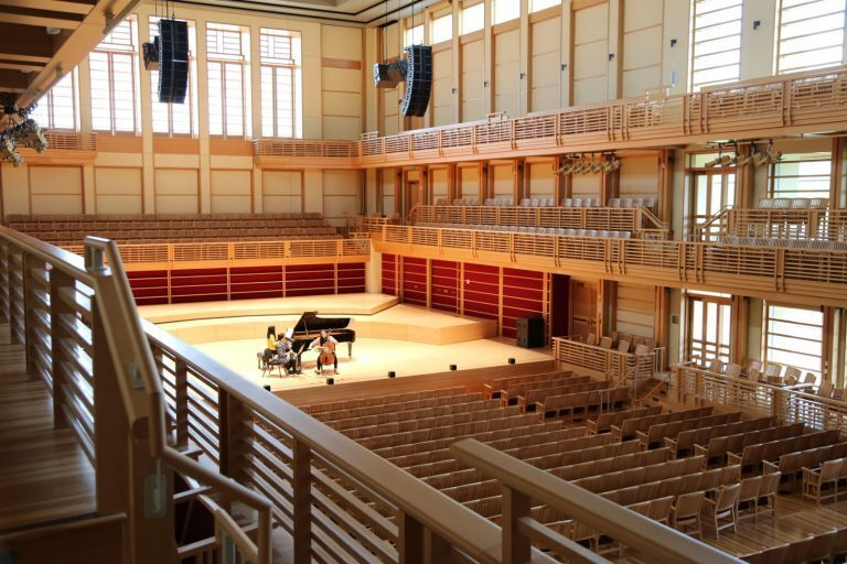 Sonoma State University Gives Green Light to L-ACOUSTICS