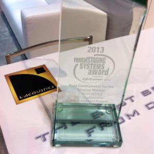 "L-ACOUSTICS 5XT Awarded ""Best Loudspeaker for the Staging Market"""