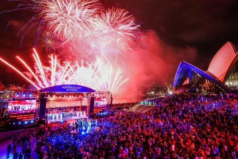 Lawo V__remote4 debut at Australia Day Celebrations on Sydney Harbour