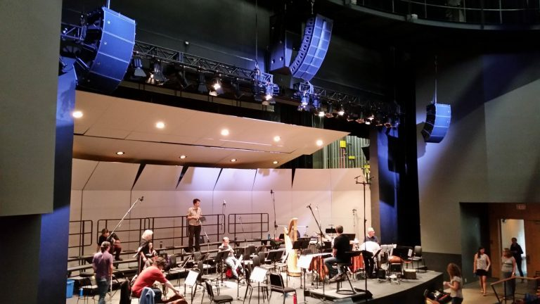 BlueShore Financial Centre for the Performing Arts Banks on L-Acoustics