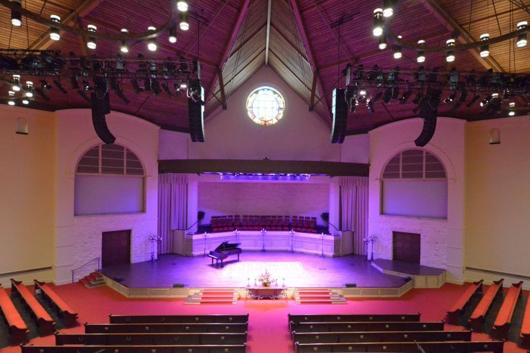 Christ Chapel Bible Church Looks Up To L-ACOUSTICS