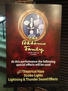 Addams Family Tour: Nashville and Houston