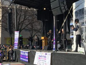 Sound Works Pro Supports Chicago Women's March with Nexo