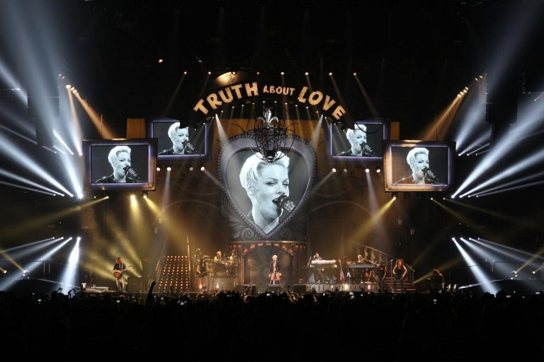 P!NK Shares The Truth About Love Live with L-ACOUSTICS