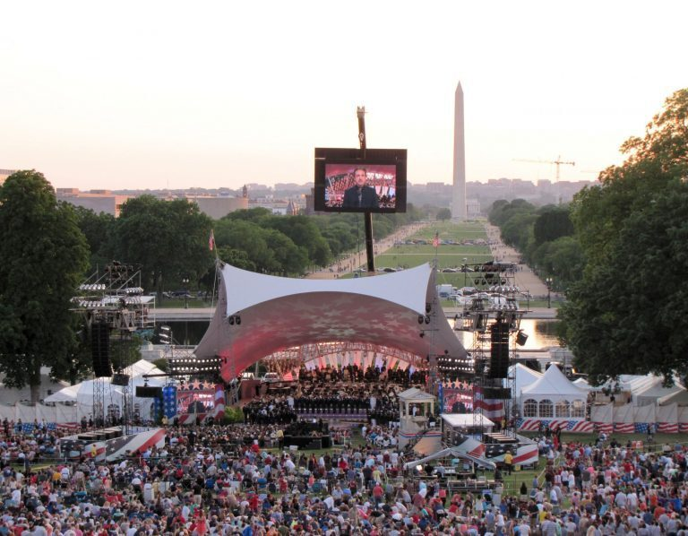 PRG Calls K2 Into Active Duty for National Memorial Day Concert