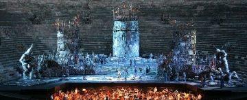 K-array makes Audio History at the Verona Opera Festival
