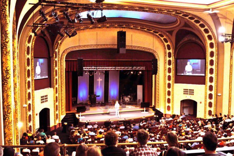 Historic Paradise Theatre Reborn with L-ACOUSTICS as epikos church