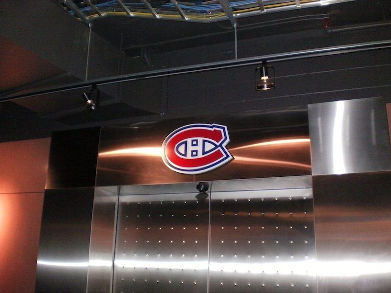 Gotta love workin' in hockey towns...