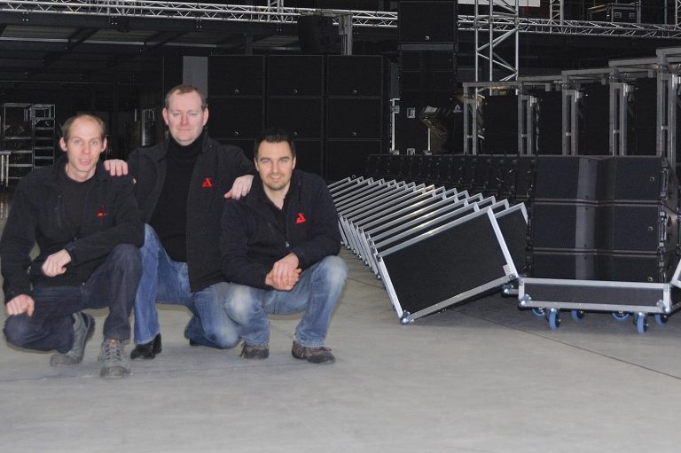 AED Rent consolidates L-ACOUSTICS inventory with further investment