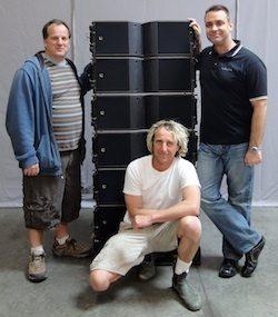 Rat Sound Nabs L-Acoustics Kara System