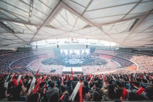 Adamson Offers Legendary Reinforcement for Gaming Tournament at China's Bird's Nest Stadium