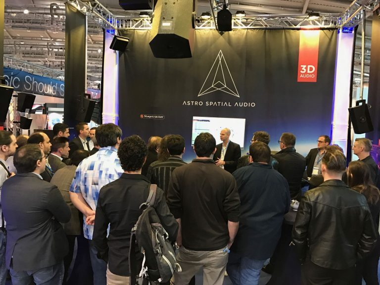 Astro Spatial Audio to demonstrate third-party integration at Prolight + Sound 2018