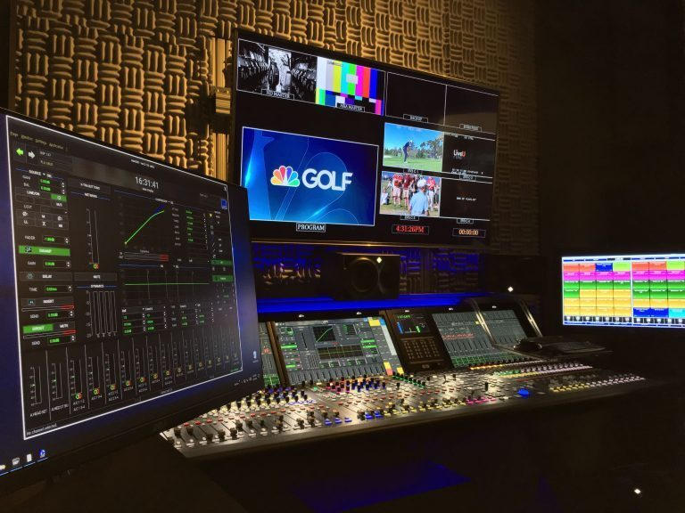 Golf Channel tees up Lawo for Production