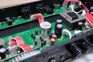 Jensen Transformers' mic input transformer specified for new two channel solid state preamp