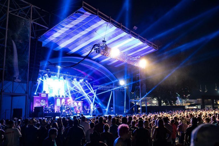 Cascade Sound & Stage Lighting Falls for L-Acoustics