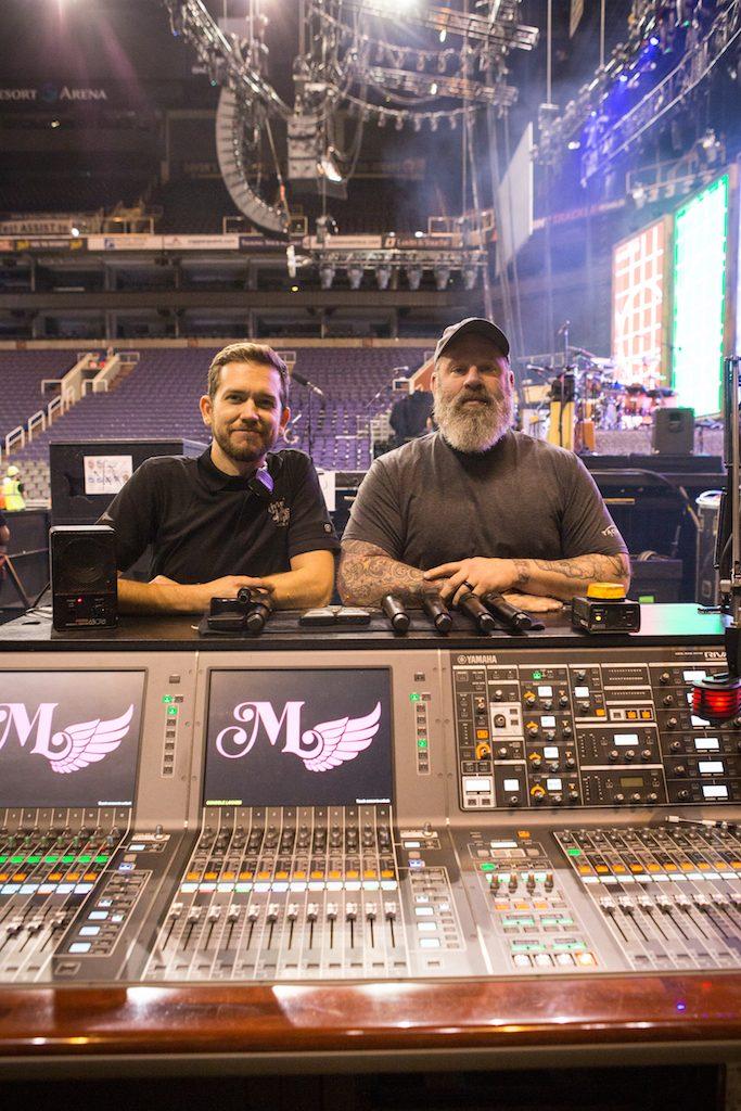 Yamaha PM10s on Miranda Lambert Tour