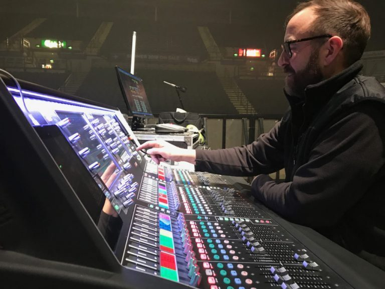 X Factor Live Tours with Allen & Heath DLive