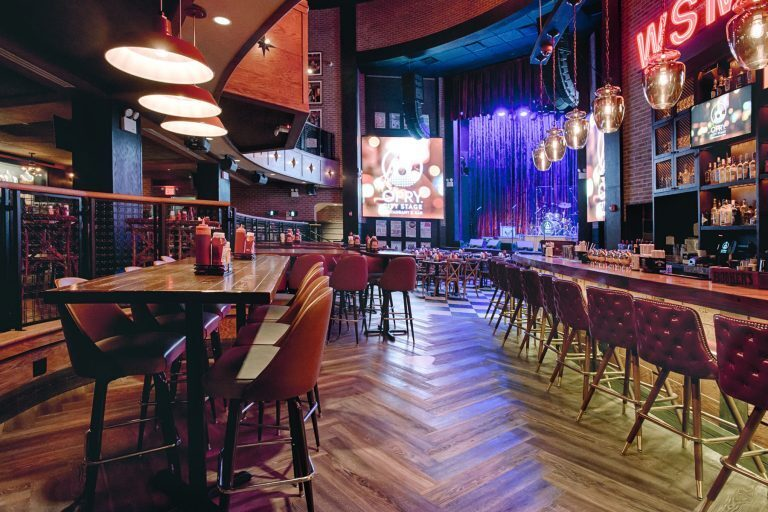 Opry City Stage's main room features L-Acoustics Kiva arrays