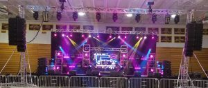With NEXO STM Line Array, Mid South Audio Configures System Any Way Client Requires
