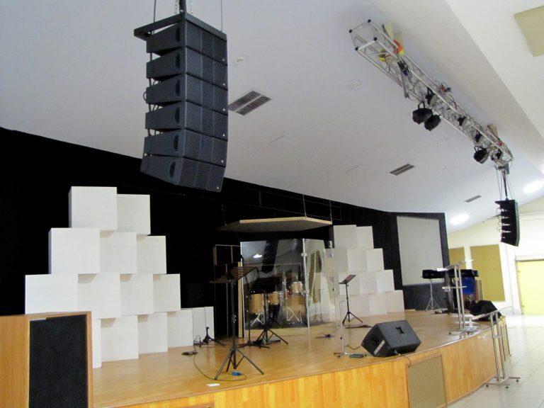 Adamson IS-Series Offers Sleek Look & Pristine Sound for Genesaret Church, Mexico