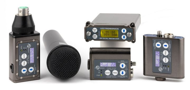 Lectrosonics Announces the Availability of Select Digital Hybrid Wireless® Microphone Products in the Recently Expanded 941-960 MHz Frequency Band
