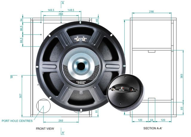 Celestion Offers Premium Quality P.A. Cabinet Designs to Build-It-Yourselfers