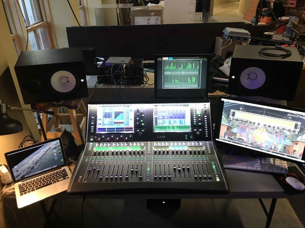 Show and Tell Mixes Festival International de Louisane Broadcast with Allen & Heath