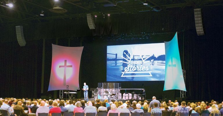 PreSonus® Loudspeaker Technology Helps Keep Services Soaring at Eagle Church