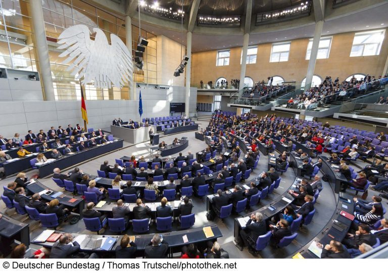 NEXUS for the PA System in the German Bundestag