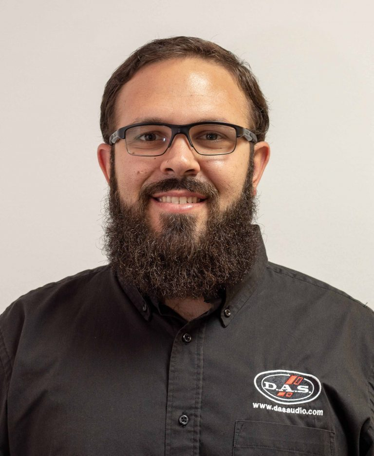 DAS Audio Appoints Gonzalez Western Territory Sales Manager