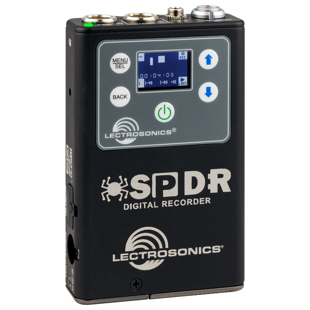 Lectrosonics Introduces the SPDR Stereo Portable Digital Recorder