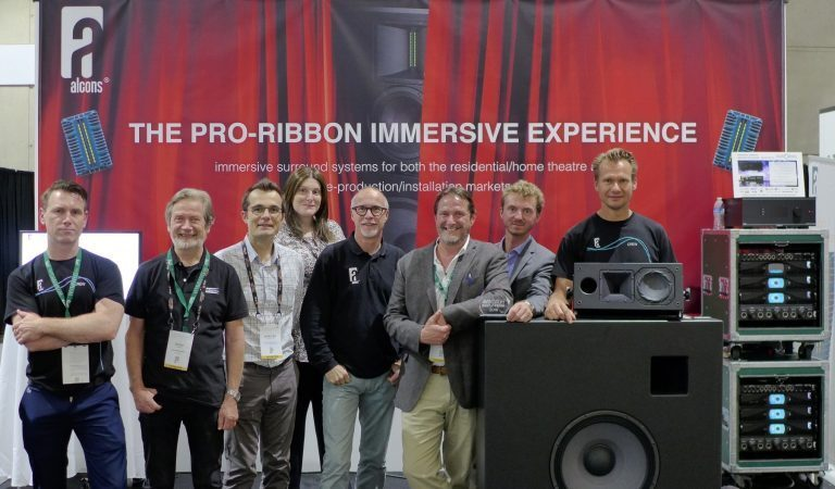 Alcons Wins Prestigious Best Of Show Demo Award At CEDIA 2018