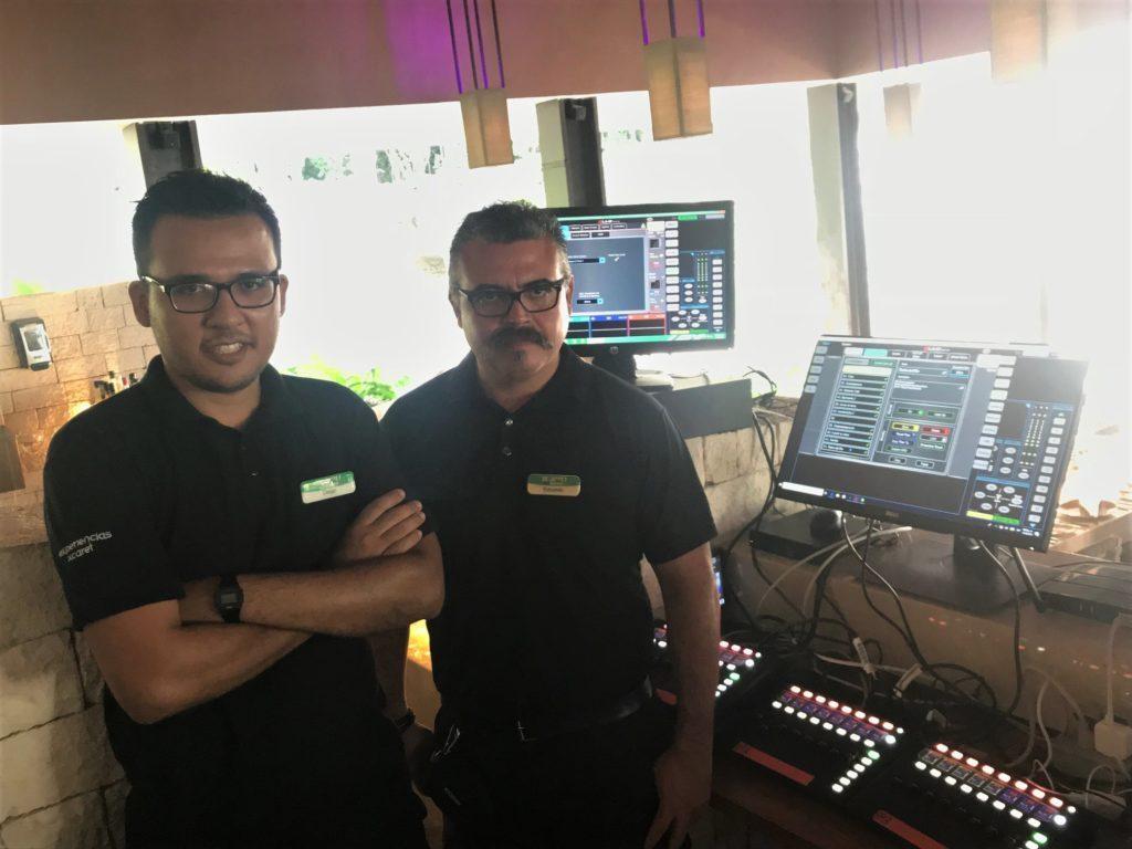 MEXICAN RESORT 'XCARET' UPGRADES AUDIO TO ALLEN & HEATH
