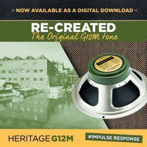 Celestion Debuts the Heritage G12M Impulse Responses