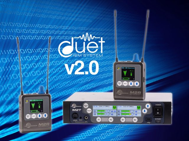 Lectrosonics Announces Major Firmware Update for the Acclaimed Duet Digital Wireless Monitor IEM/IFB System