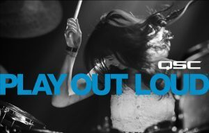 "QSC Premieres ""Play Out Loud"" At Winter NAMM"