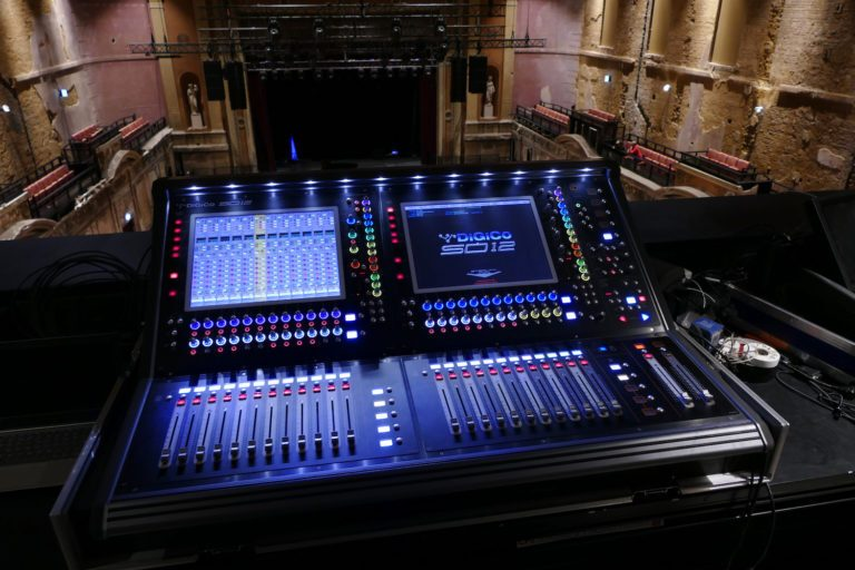 DiGiCo SD12 a perfect fit for sensitively restored Alexandra Palace Theatre