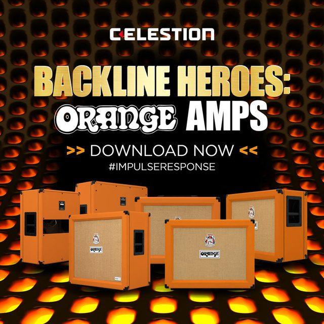 Celestion Introduces the New Orange Amps Impulse Responses