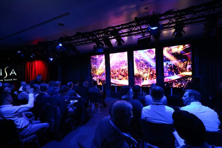 L-ISA demos at Prolight + Sound 2018 drew capacity crowds. L-Acoustics will offer demos three times daily at PL+S 2019.