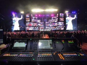 Working Musically To Create Big Sound, Scottie Baldwin Uses Yamaha CL5 On Wang Leehom Tour