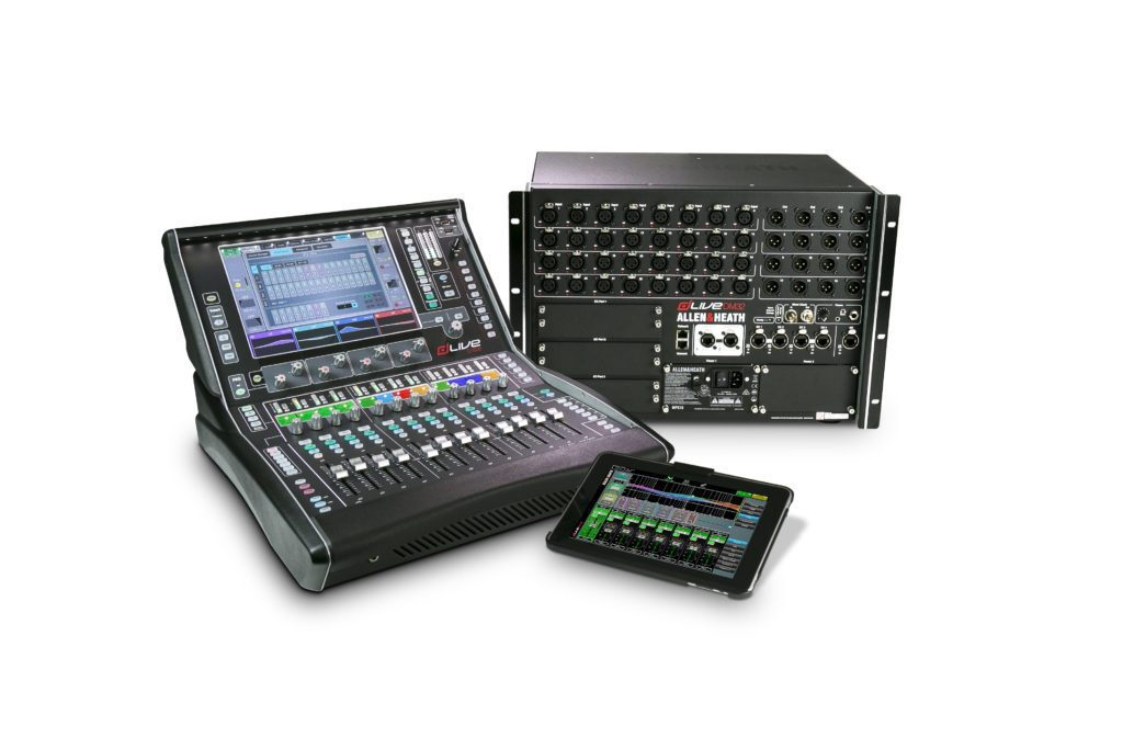 ALLEN & HEATH SHOWCASES FLY PACK SYSTEMS AT PROLIGHT + SOUND