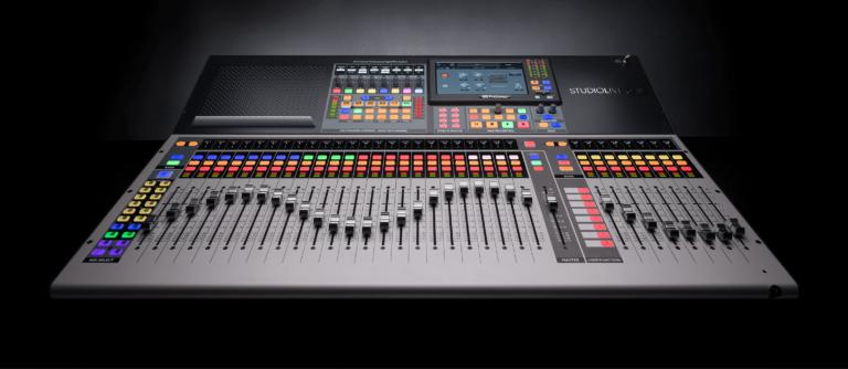 PreSonus Ships FLEX DSP-powered StudioLive 64S and Series III S Mixers