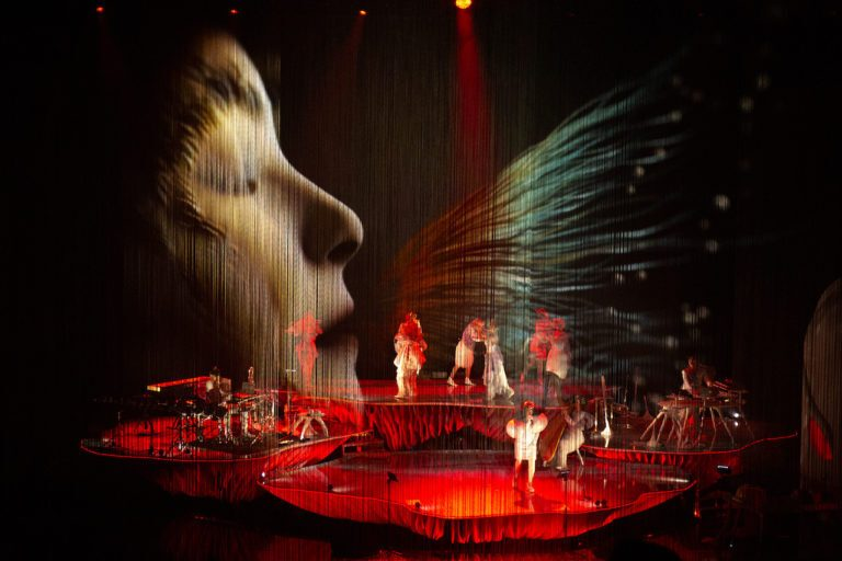 Björk's Cornucopia, enriched by the d&b Soundscape at New York's newest cultural center.