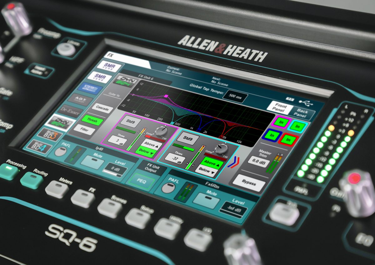 ALLEN & HEATH ROLLS OUT CROWD-PLEASING FEATURES AND DYNAMIC ADD-ONS WITH SQ V1.4