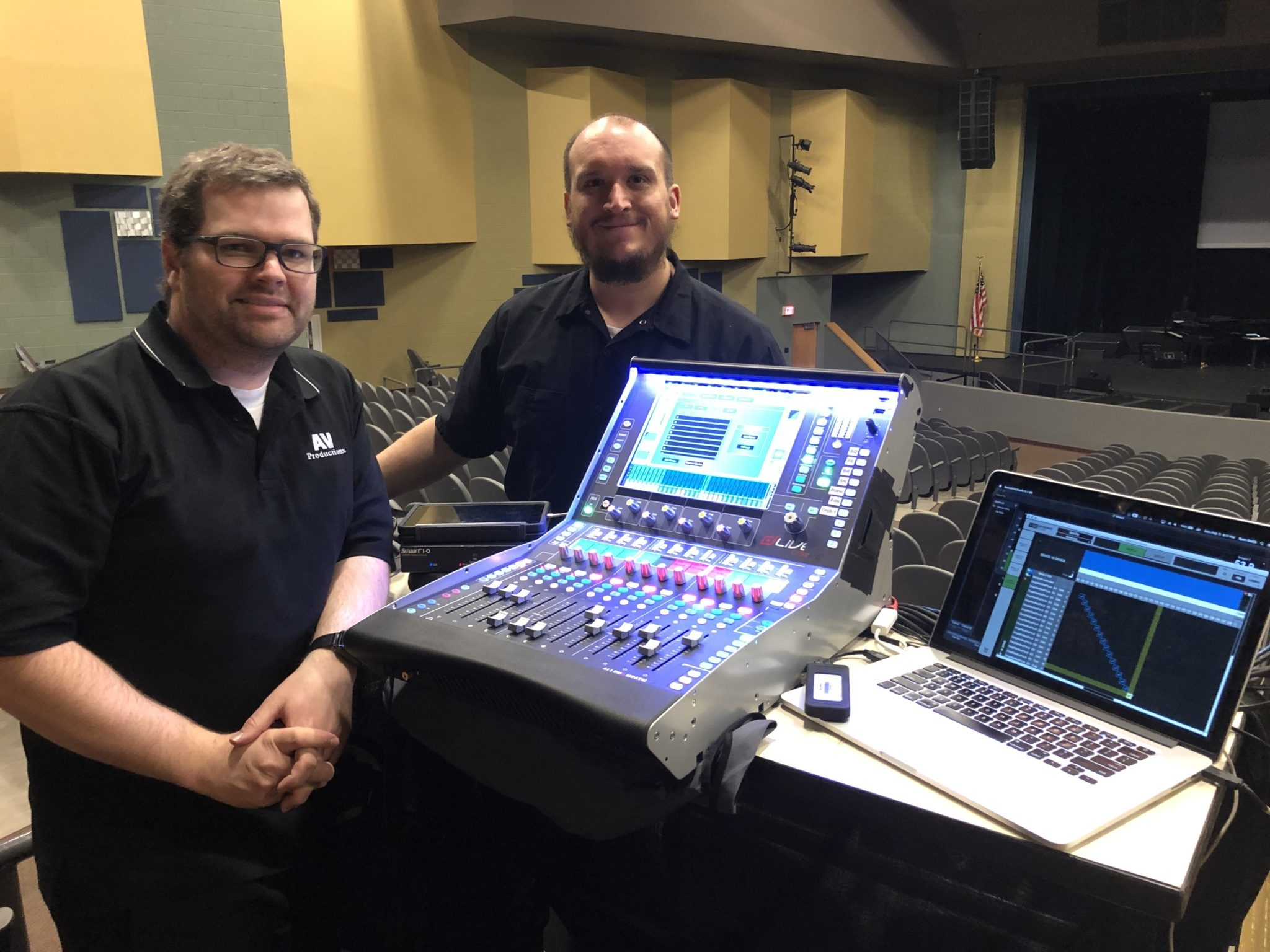 GENTRI – THE GENTLEMEN TRIO TOURS LIGHT WITH ALLEN & HEATH