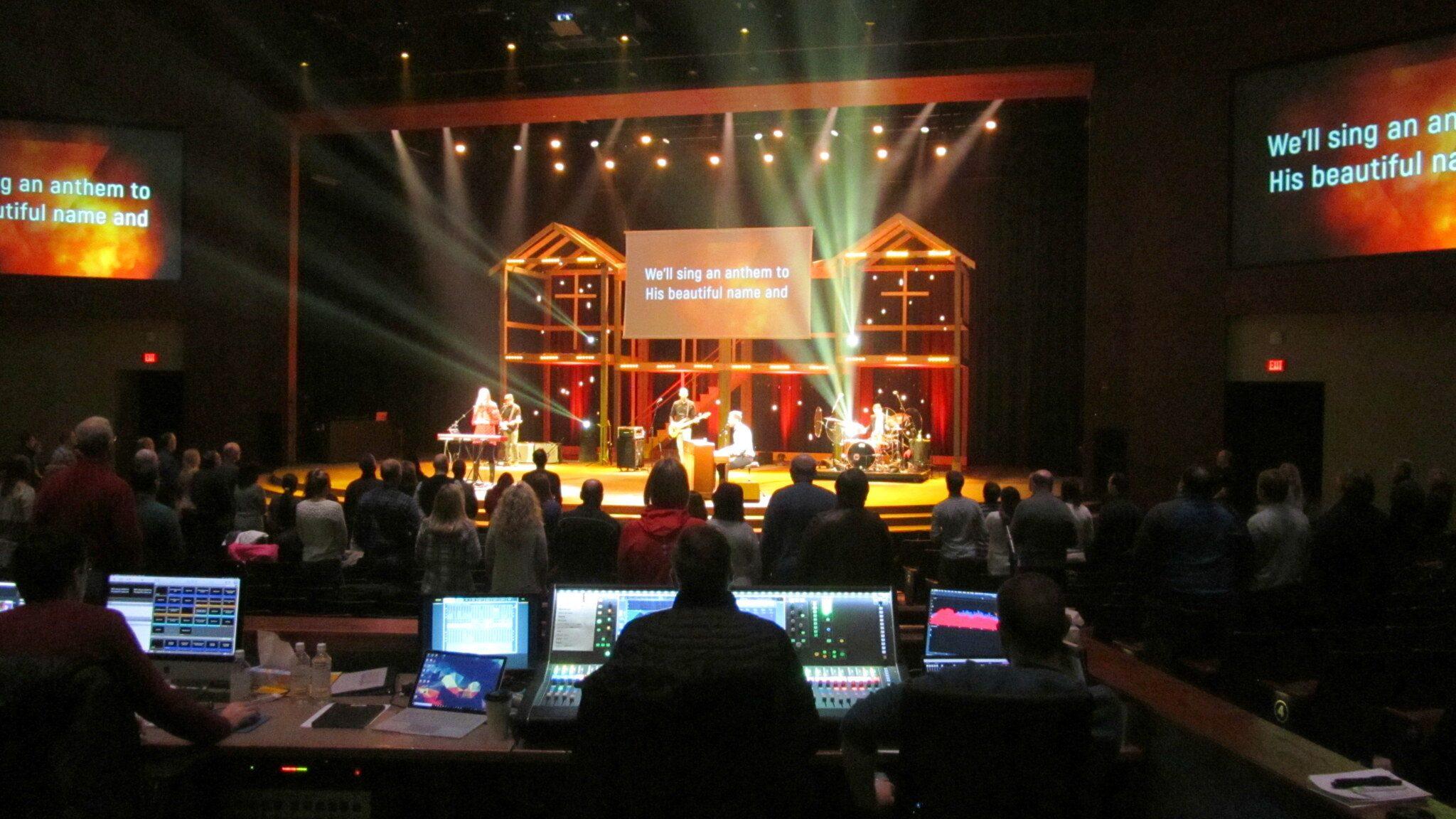 LINCOLN BEREAN SERVES A GROWING CONGREGATION WITH ALLEN & HEATH