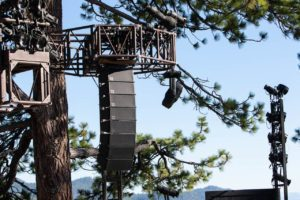 Built to withstand sand and heat, Audio Logic installs weather resistant d&b Y-Series for Tahoe festival.