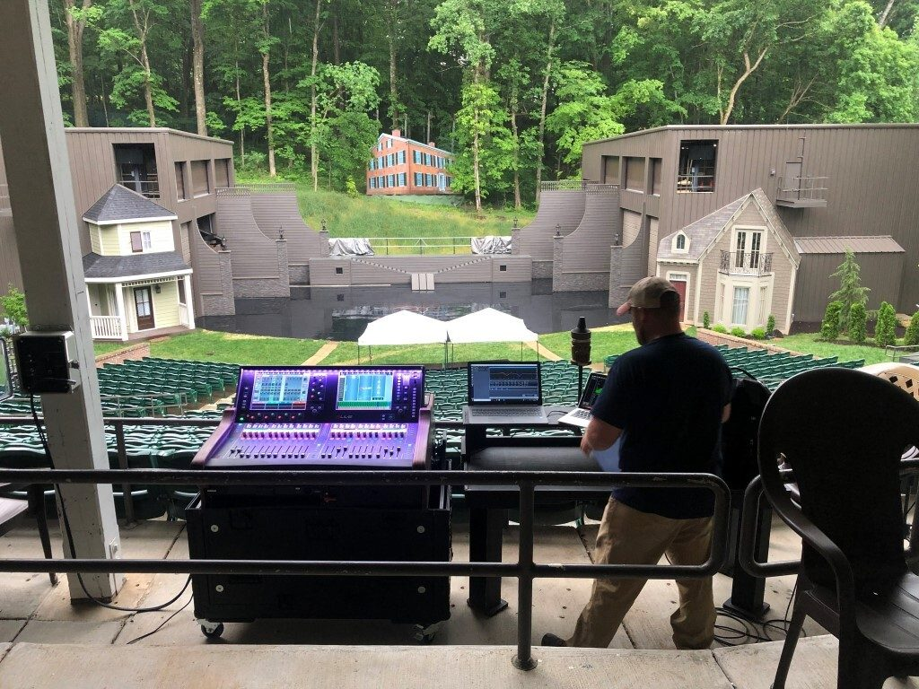 THE SHOW GOES ON WITH ALLEN & HEATH