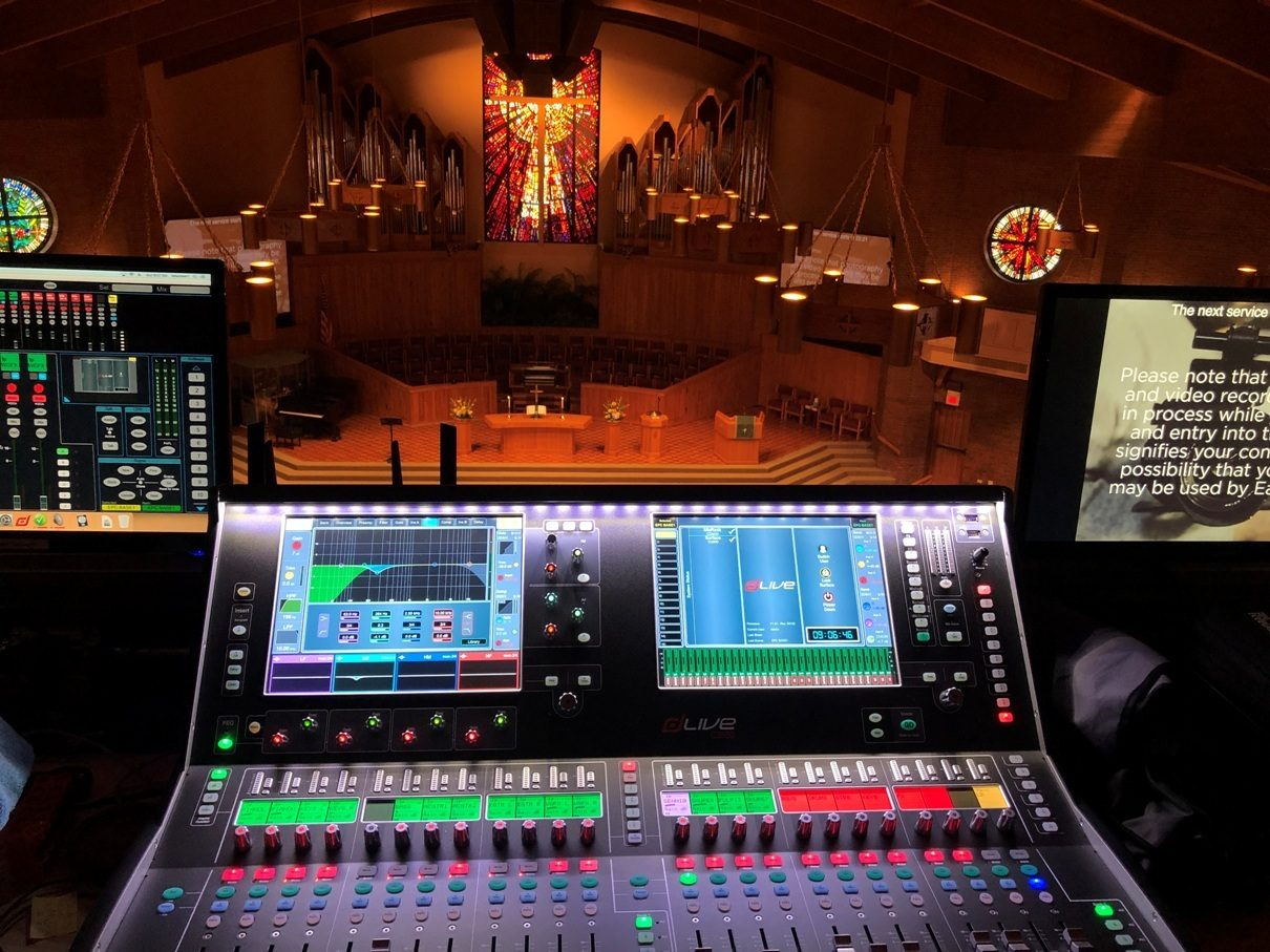 dLive Meets Diverse Needs at Eastminster Church