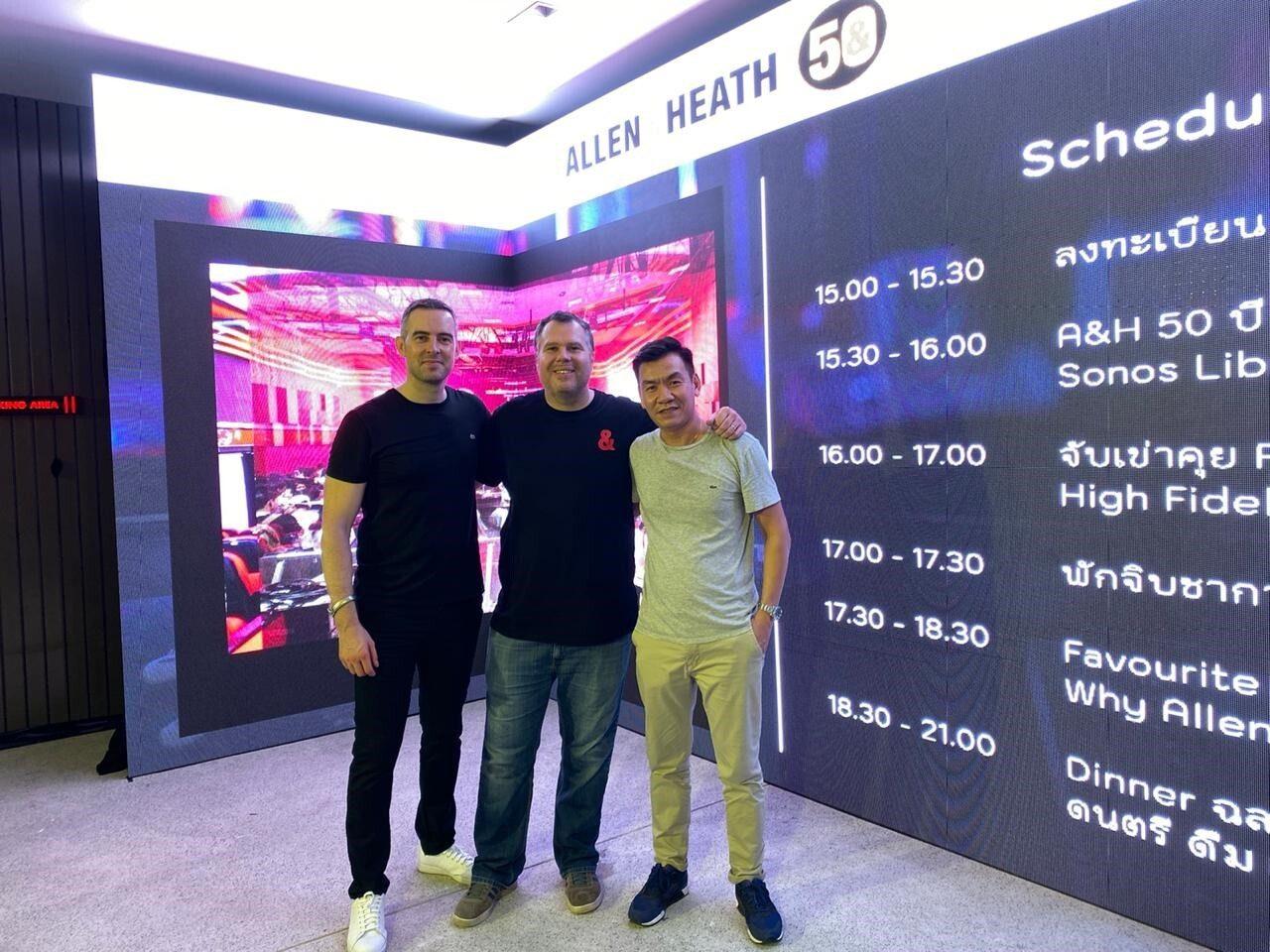 SONOS LIBRA APPOINTED EXCLUSIVE ALLEN & HEATH DISTRIBUTOR FOR VIETNAM